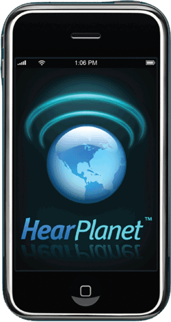 HearPlanet iPhone iPod Touch App