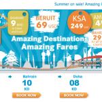 Keep an eye on Jazeera Airways summer offers