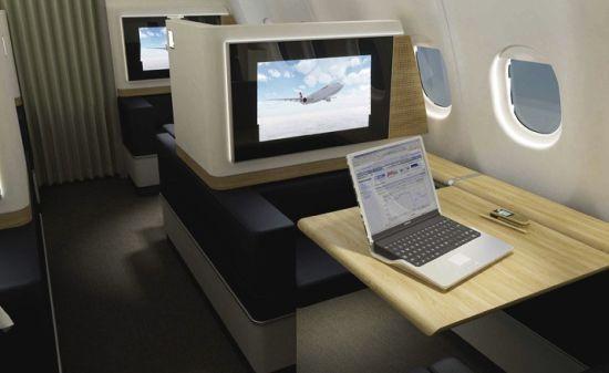SwissAir First Class New Design