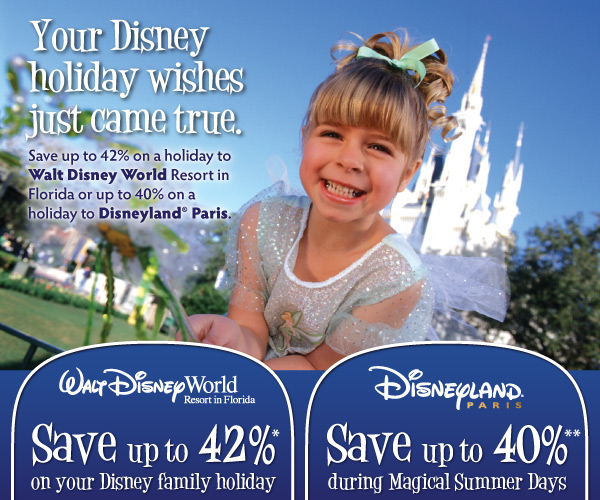 Disney Up to 42% Discount Offer