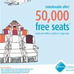 50,000 Free Seats from Jazeera Airways
