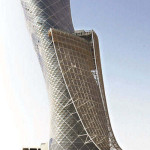 Capital Gate Abu Dhabi down plays the Pisa