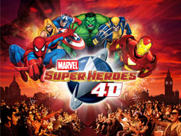 marvel super heroes 4D movie