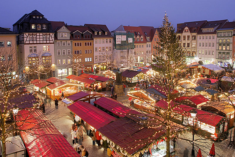 Christmas Market in Jena (Courtesy of ReneS