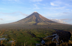 Mayon Volcano in Albay, Philippines. Courtesy of Tomas Tam
