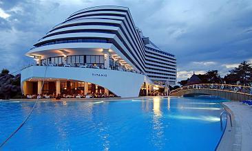 Titanic DeLuxe Beach & Resort Hotel Antalya, Turkey