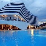 Tour the luxurious Titanic DeLuxe Beach & Resort Hotel in Antalya, Turkey