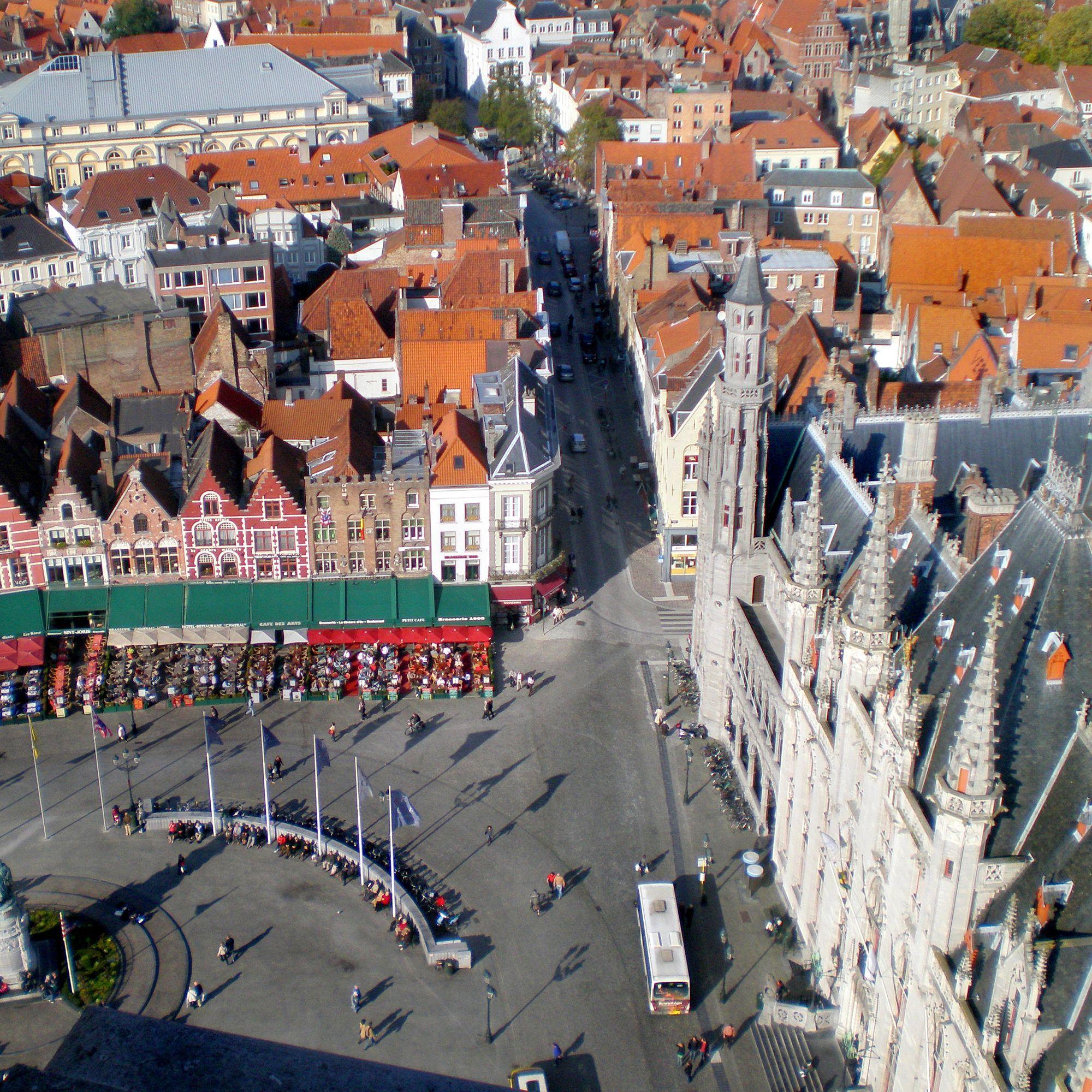 The Market Square Bruges