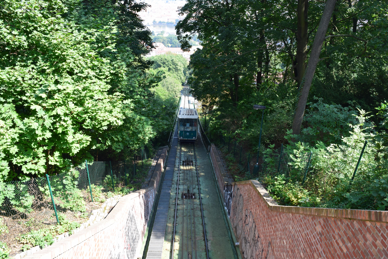 Prague Czech tram