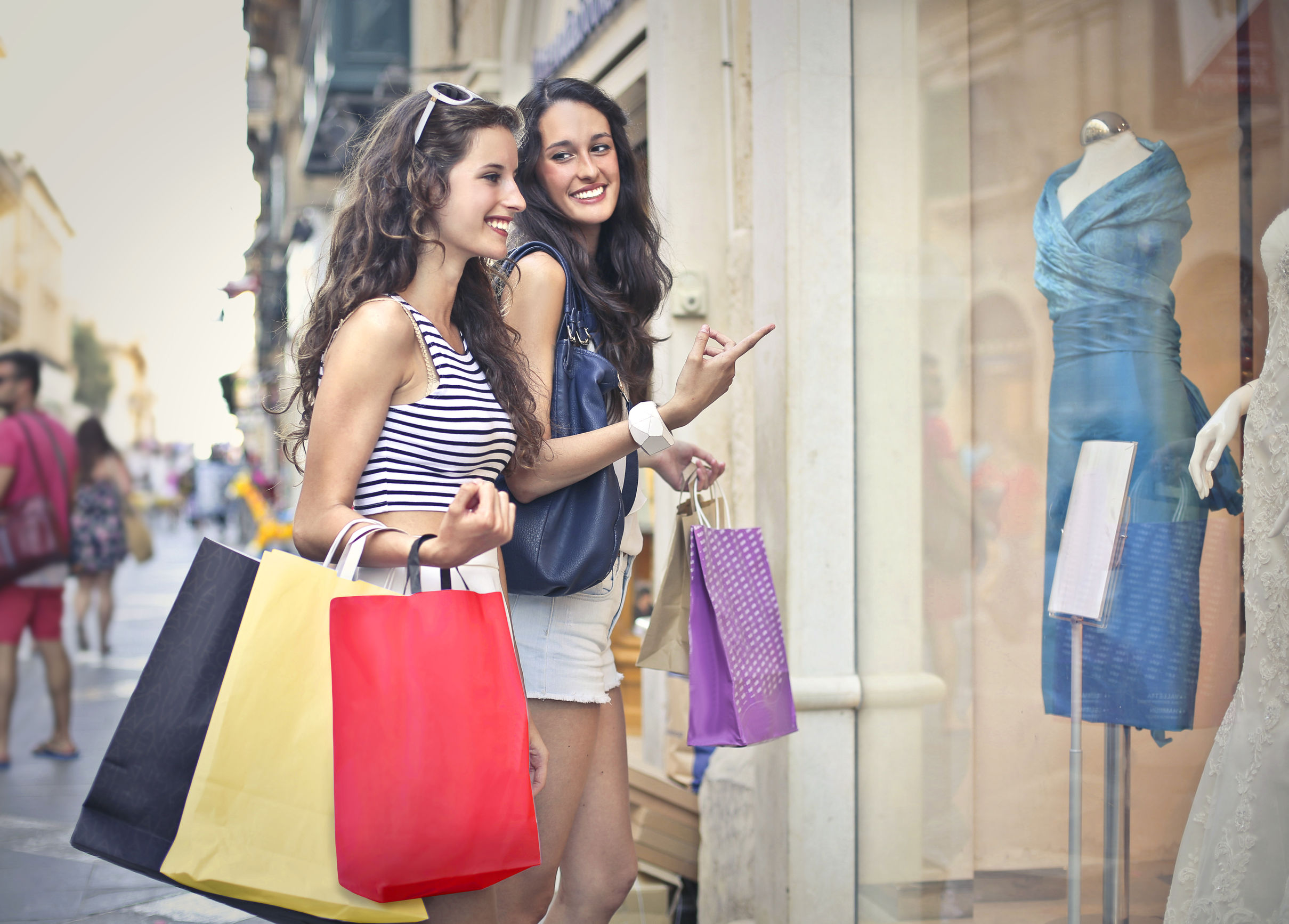 Shopping travel tourism