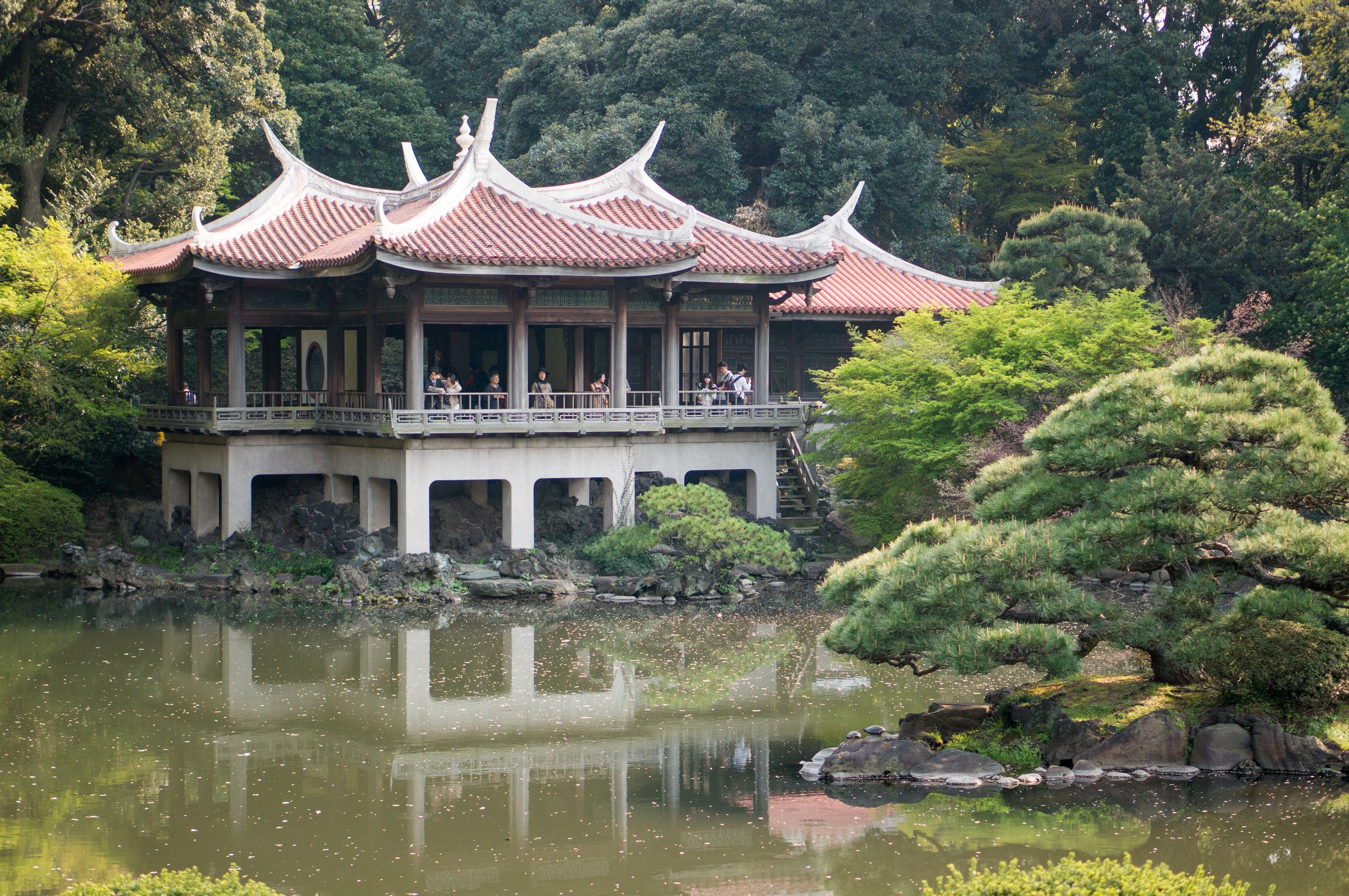 Shinjuku Gyoen National Garden Tokyo Japan